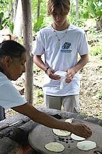 Volunteer travel to Lake Peten Itza, El Remate, Guatemala
